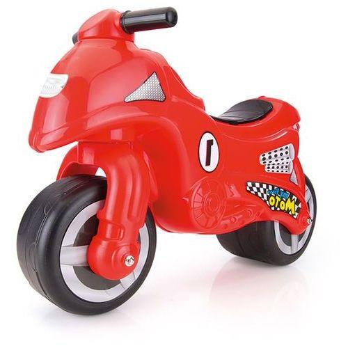 czerwony motocykl marki Dolu