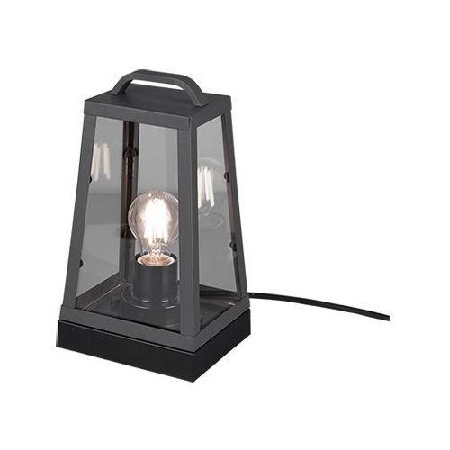 Trio Arkansas 501360142 lampa stołowa zewnętrzna ogrodowa IP44 1x40W E27 antracyt (4017807447262)