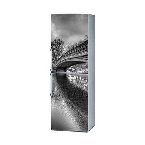 Mata magnetyczna na lodówkę - tajemniczy most 4172 marki Stikero