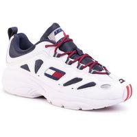 Tommy jeans Sneakersy - heritage retro sneaker em0em00404 rwb 0kp