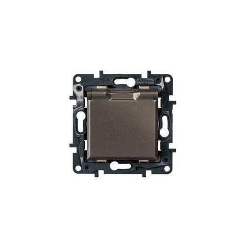 Gniazdo pojedyncze IP44 STRUCTURA magnez LEGRAND (3414971942011)