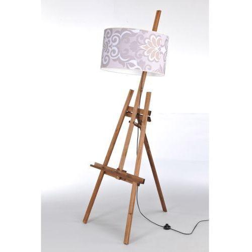Lampa stojąca sztaluga dark wood nr 2463 marki Namat