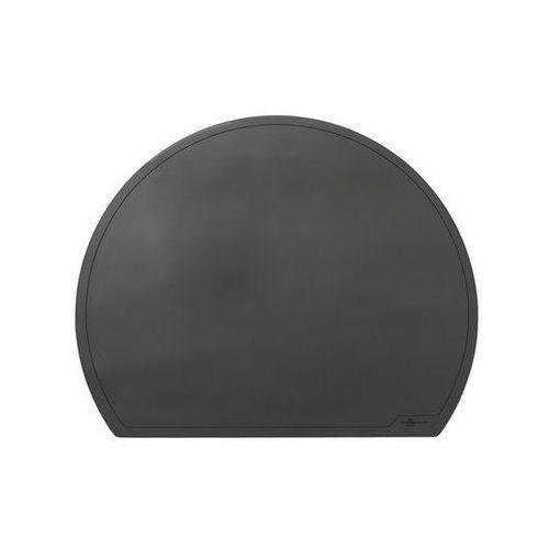 Durable Podkład na biurko półokrągły 65x52cm czarny