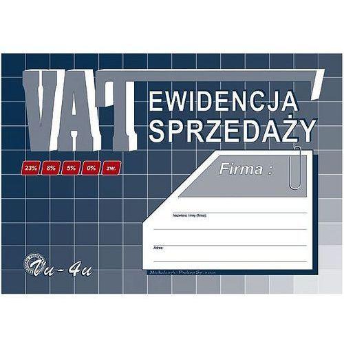 Ewidencja sprzedaży VAT A5 Vu-4u Michalczyk i Prokop