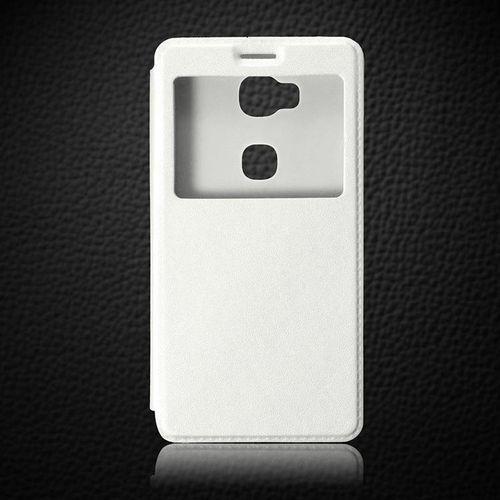 biały | etui z klapką dla huawei honor 5x - biały marki Flip leather