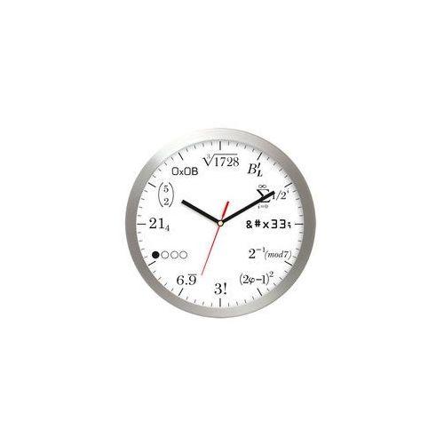 Zegar aluminiowy matematyka #10 marki Atrix