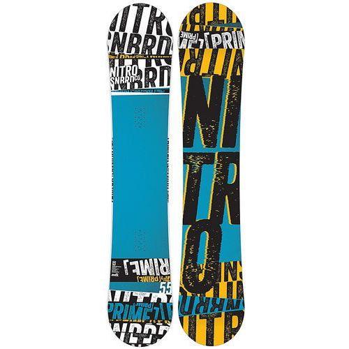 Potestowa deska snowboardowa prime stacked 155 cm marki Nitro