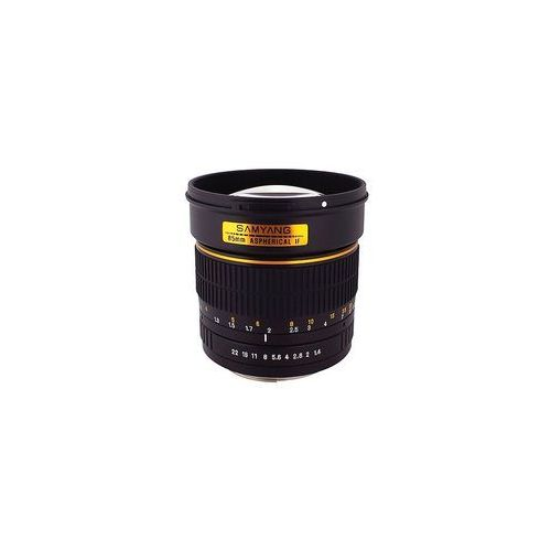 Samyang 85mm f1.4 AS IF UMC do Canon - 5 lat gwarancji - produkt z kategorii- Pozostała optyka fotograficzna