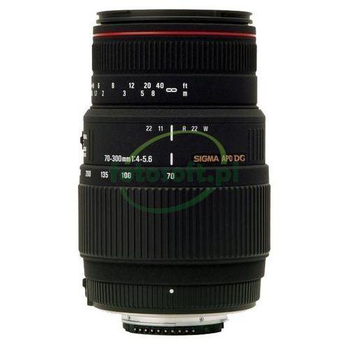 Sigma Obiektyw 70-300mm f/4-5,6 apo dg macro do canon