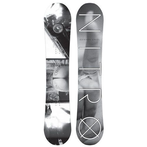 Nowa deska snowboardowa team x estevan oriol gullwing 159 cm wide marki Nitro
