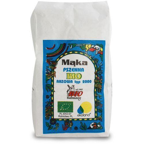 Bio babalscy Mąka razowa pszenna typ 2000 1 kg