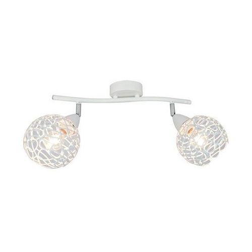 Zuma line Plafon olten r5017002-2s lampa sufitowa 2x40w e14 biały