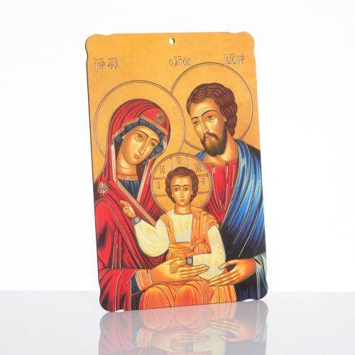 Produkt polski Pamiątka ślubna – obrazek religijny na desce