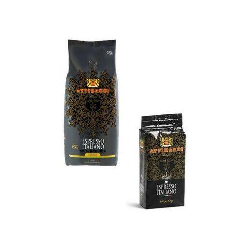 Gratis Zestaw kawa ziarnista oraz najlepsza kawa mielona