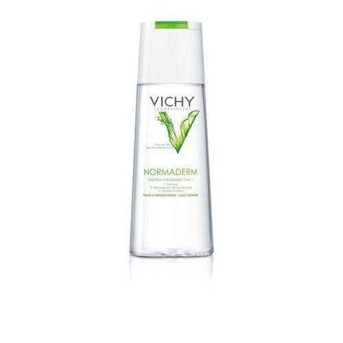 Vichy normaderm normaderm oczyszczający płyn micelarny do cery tłustej i problematycznej (micellar solution) 200 ml