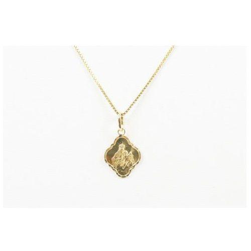 Biżuteria damska ze złota PR.585 14 Karat SAXO Zawieszka złota ZZ.A.075.02, ZZ.A.075.02