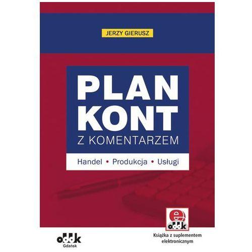 Plan kont z komentarzem – handel, produkcja, usługi (z suplementem elektronicznym)