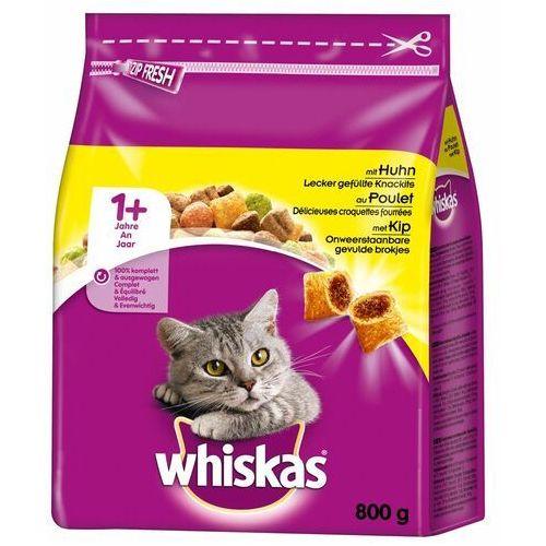 Whiskas 1+ z kurczakiem - 3,8 kg