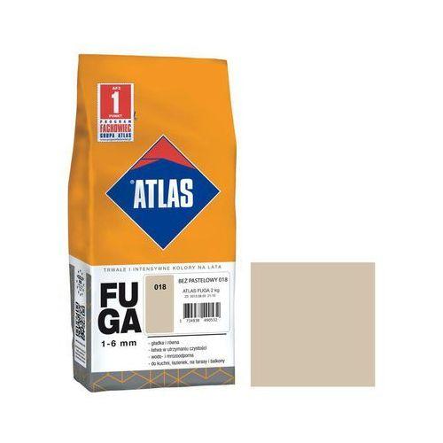 Fuga cementowa 018 beż pastelowy 2 kg ATLAS (5905400274776)