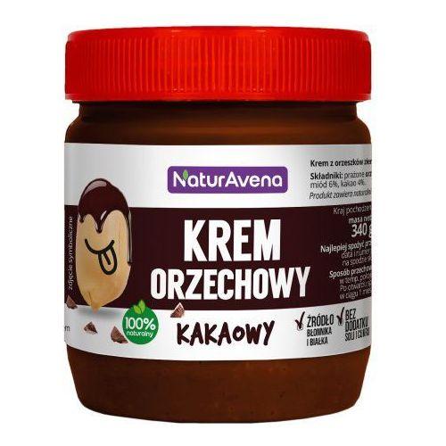 Krem orzechowy kakaowy bez soli/cukru 340g - Naturavena (5902367400460)