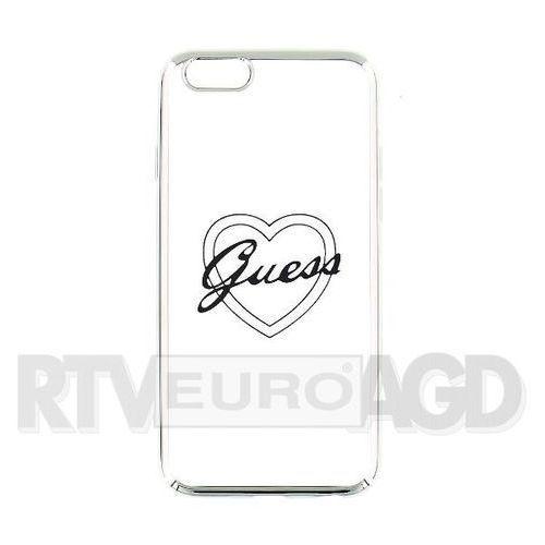 GUESS Hardcase GUHCP6TRHS iPhone 6/6S silver heart signature DARMOWA DOSTAWA DO 400 SALONÓW !!