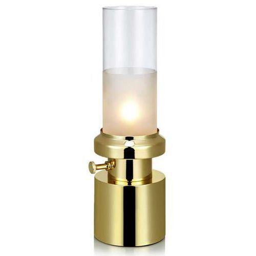 Stojąca lampa stołowa pir 106429 biurkowa lampka tuba jak naftowa mosiądz marki Markslojd