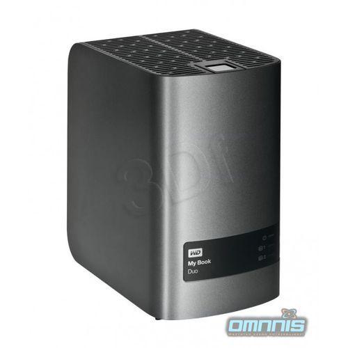 Dysk Western Digital My Book Duo 6TB, WDBUTV0060JSL-EESN