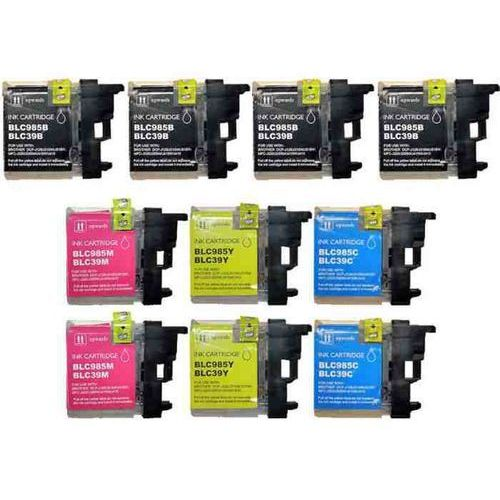 Tusz Cartridge Brother Multipack LC-985CMYK LC985CMYBK 4BK+2C+2M+2Y 10szt. zamiennik