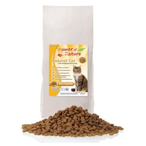 Power of Nature Natural Cat Grainfree Fees Favorite Chicken 7,5kg