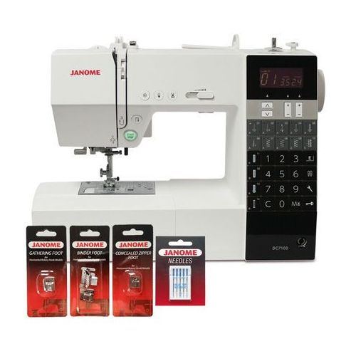 Maszyna do szycia  dc7100 (dodatkowe stopki i igły gratis) marki Janome