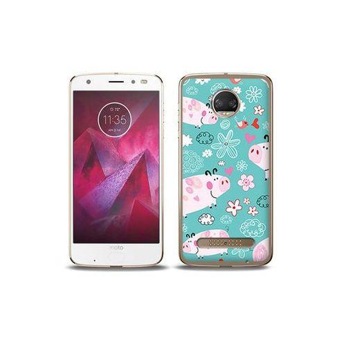 etuo Fantastic Case - Motorola Moto G6 Play - etui na telefon Fantastic Case - różowe świnki, ETMT716FNTCFC037000