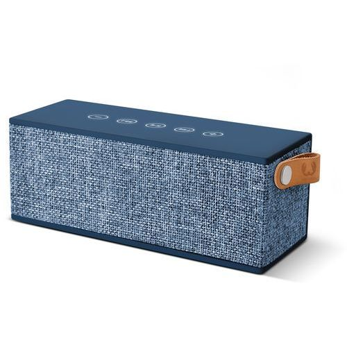 Głośnik bluetooth rockbox brick fabrick edition indigo + darmowy transport! marki Fresh n rebel