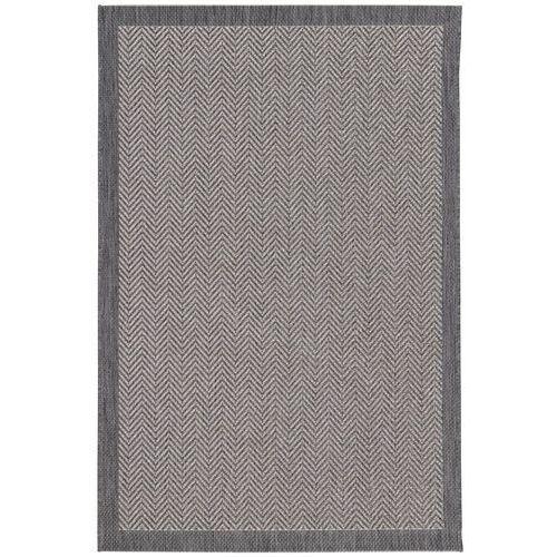 Dekoria dywan breeze anthracite 120x170cm, 120 × 170 cm