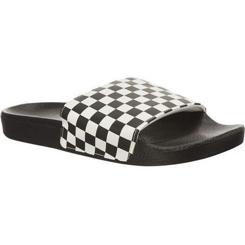 mn slide on ip9 checkerboard white - klapki męskie, Vans