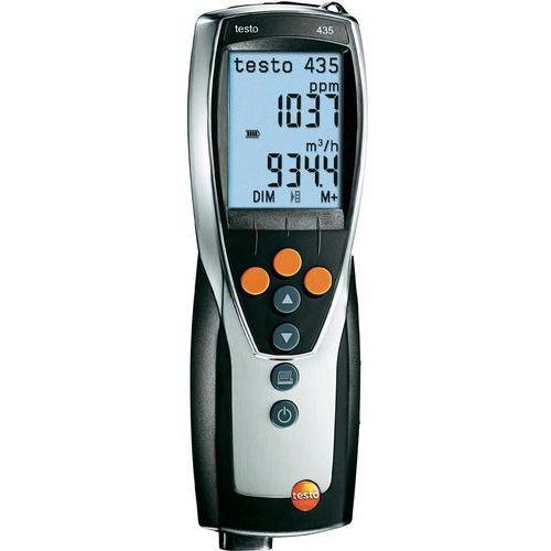 Wielofunkcyjne urządzenie pomiarowe testo 435-3 0560 4353, 435-3