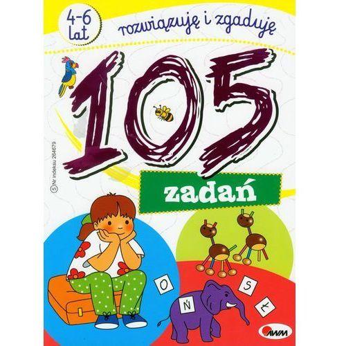 105 zadań rozwiązuję i zgaduję, książka w oprawie miękkej