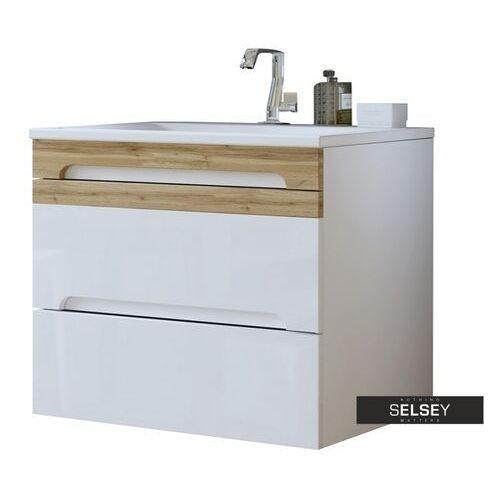 Selsey szafka pod umywalkę warner biała 80 cm (5900000045753)