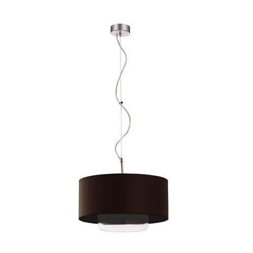 JUPITER 1118-AV1 - Lampa wisząca AVEO 1xE27/60W szkło białe wenge