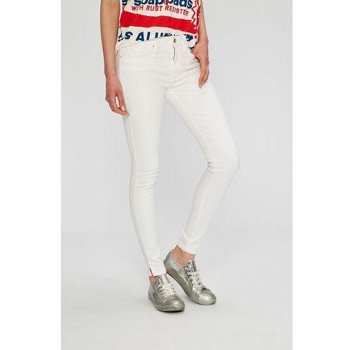 - jeansy marki Tommy hilfiger