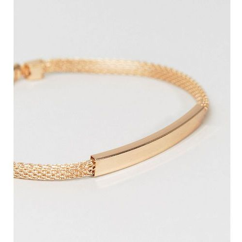 Designb chain id bracelet in gold exclusive to asos - gold marki Designb london