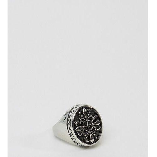inspired signet ring - silver marki Reclaimed vintage