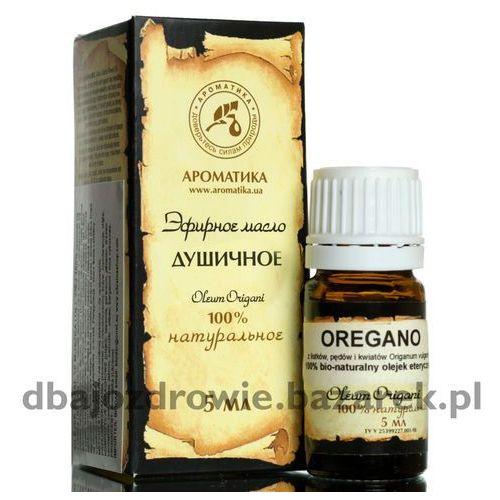 100% naturalny olejek oregano, origanum, 5 ml marki Aromatika