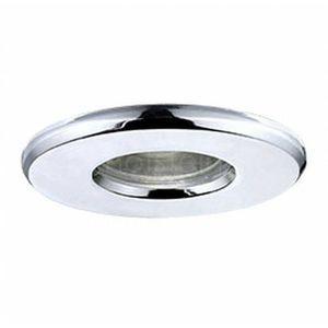 Oczko LAMPA sufitowa IGOA 94975 Eglo OPRAWA podtynkowa SPOT metalowy wpust LED 3,3W IP44 chrom, 94975