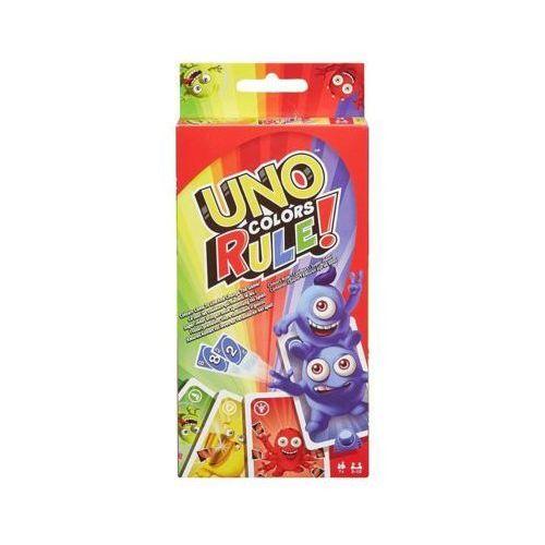 Gra uno kolory rządzą - darmowa dostawa od 199 zł!!! marki Mattel