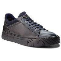 Sneakersy EMPORIO ARMANI - X4X246 XL540 A328 Blue/Black/Night, w 5 rozmiarach