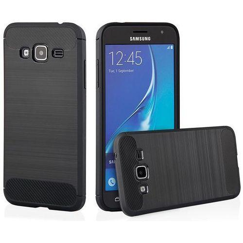 Etui QULT Back Case Armor do Samsung Galaxy J3 2016 Czarny, kolor czarny
