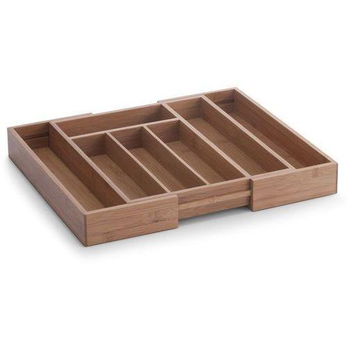Zeller Rozsuwany pojemnik na sztućce, wkład do szuflady (4003368253220)