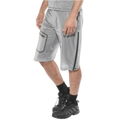 Haglöfs L.I.M Bield Spodnie krótkie Mężczyźni szary/biały M 2018 Szorty syntetyczne, kolor biały