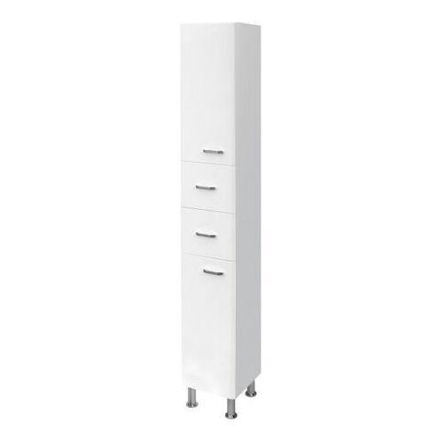 Słupek łazienkowy Cersanit Diuna 30 x 180 x 30 cm biały, kolor biały