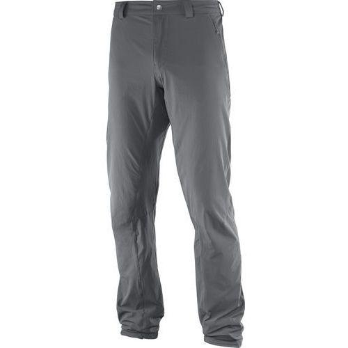 Salomon wayfarer incline spodnie długie mężczyźni szary 46 2017 spodnie turystyczne